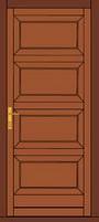 fa beltéri ajtó panel